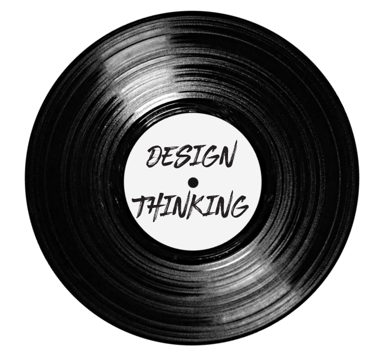 Design Thinking  + Define the right problem to solve + Explore ideas tangibly + Iterate based on feedback