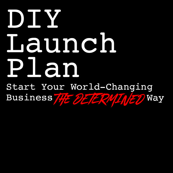 To go deeper into this process, I've created a checklist,  DIY Launch Plan: How to Start a World-Changing Business The Determined Way . Download it now to keep it by your side as you go through this process.