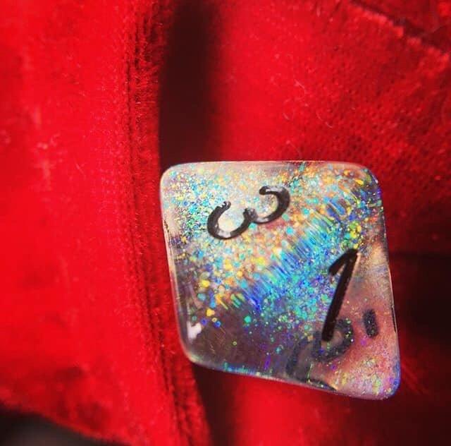 Chessex Borealis Confetti - mixed colors