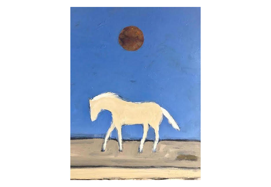 """Wild Pony 40"""" x 30"""""""