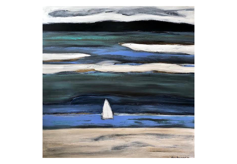 """Into the Blue 48""""  48"""""""