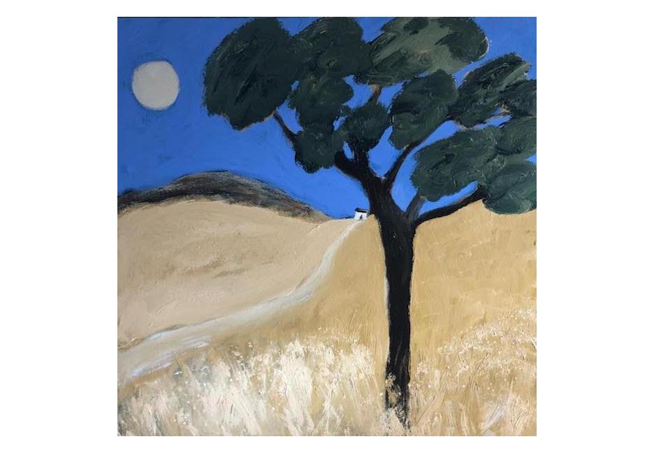 """Oak Tree - August 48"""" x 48"""""""