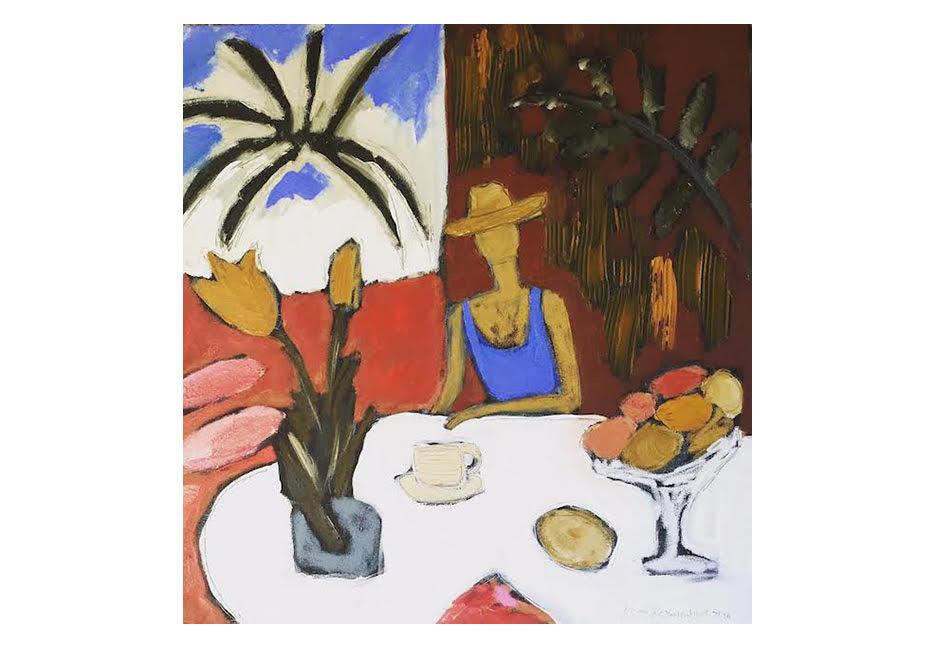 "Breakfast with Matisse (After Matisse) 36"" x 36"""