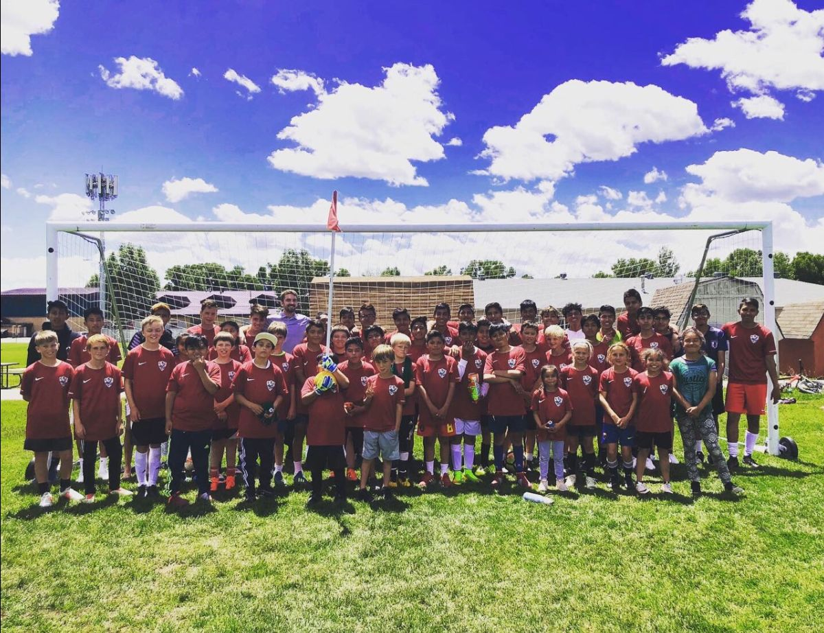 We're proud to partner with    Community Soccer Camp   ! This summer over 50 kids are playing soccer with CSC. Teams practice Monday, Wednesday, and Friday, with games on Saturdays.