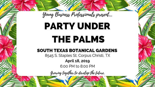 be there or be ⬛️ . . did we mention that admission to Party Under The Palms is absolutely FREE?? 🌴🌺🦜