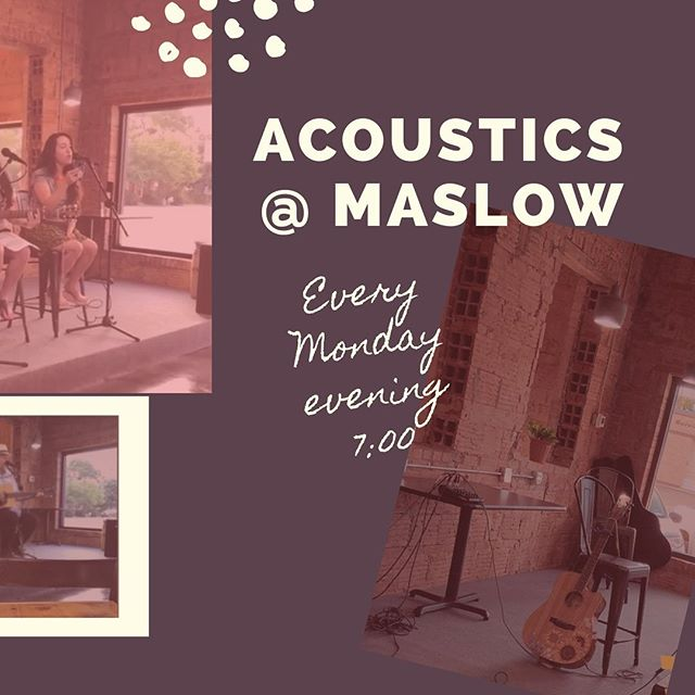 Starting now, we're hosting Acoustic performers every Monday night starting at 7 pm. Come out and enjoy some great music with us! #acoustic #abimusic #abilenelive