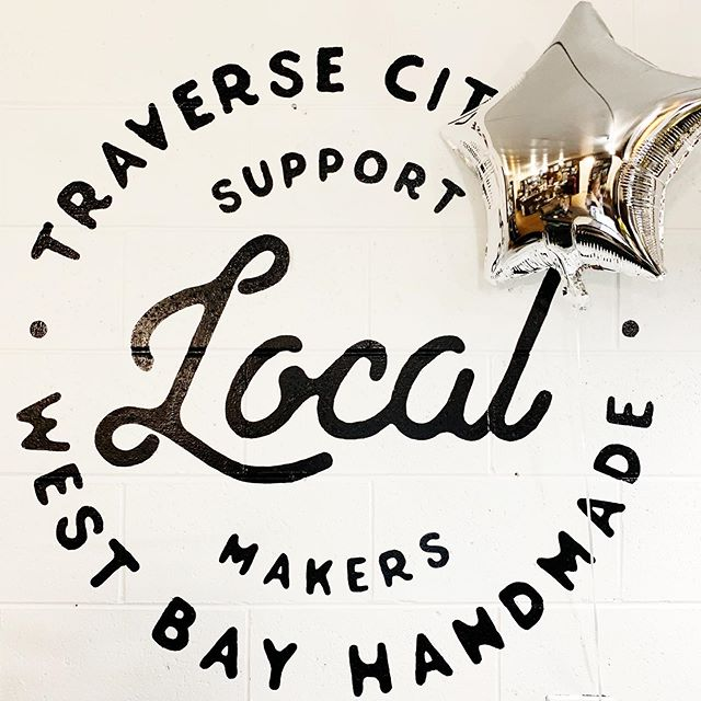 Shop small this weekend! ✨ Come by and see our local artisan's home decor, artwork, furniture, apothecary goods, jewelry and so much more!  #traversecity #shopsmall #supportlocalmakers #puremichigan #littlestore #makersgonnamake