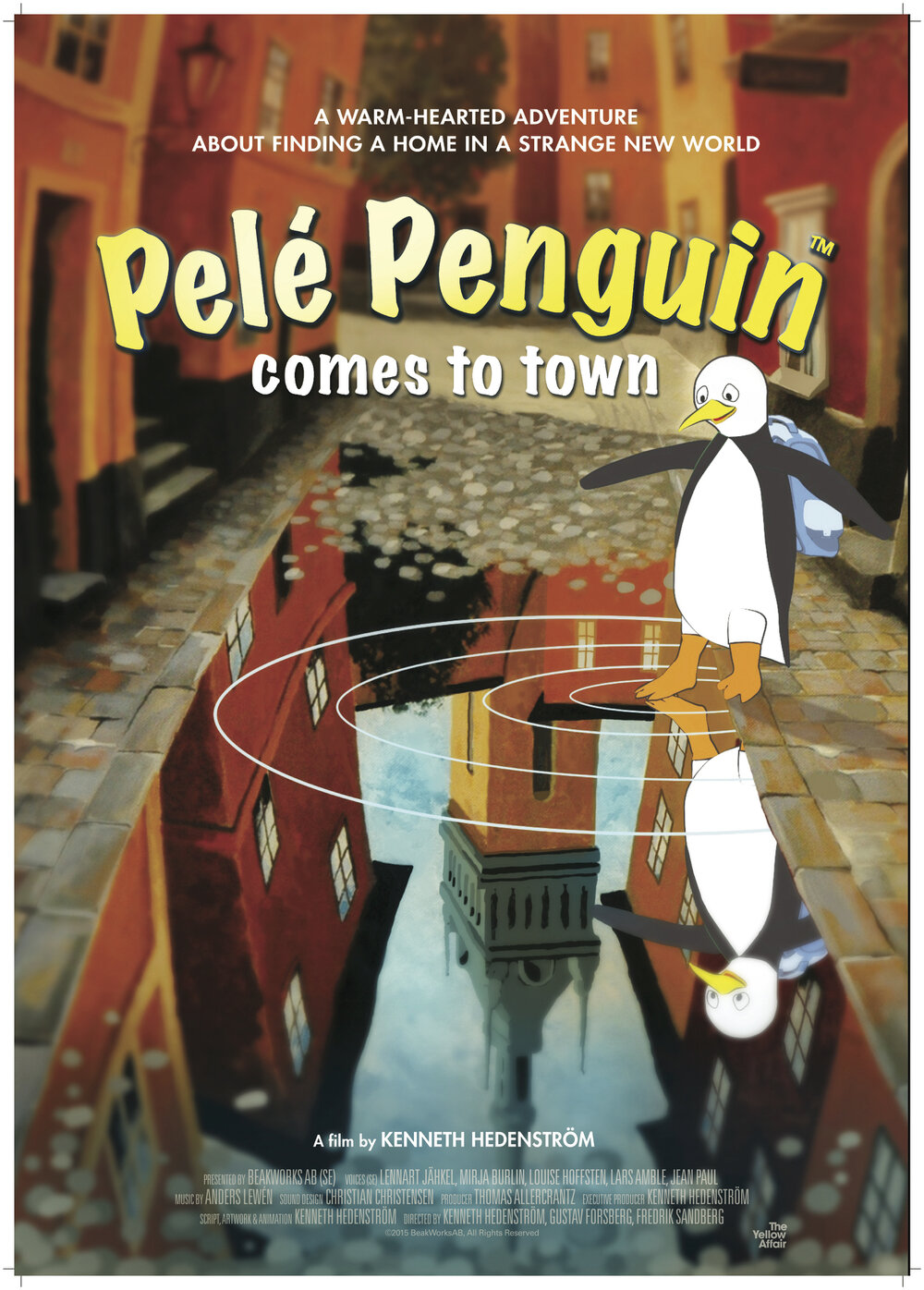 Pele Penguin Comes to Town