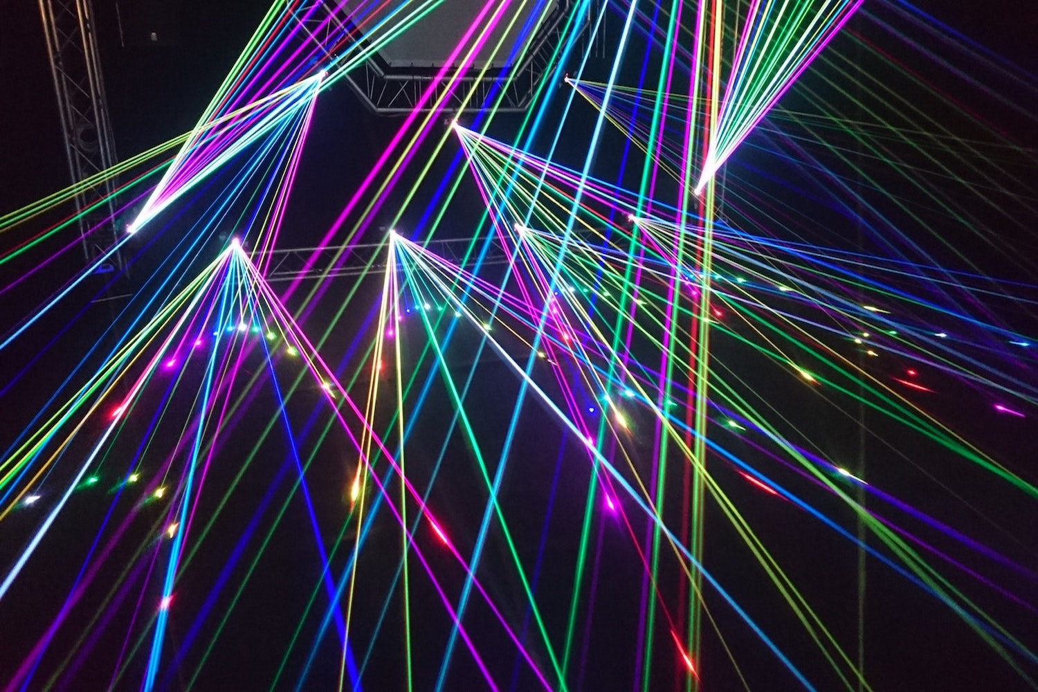 Lighting - Our lighting equipment gives us the ability to create a fun, lively environment that syncs perfectly with the music. You can't disco without some color!