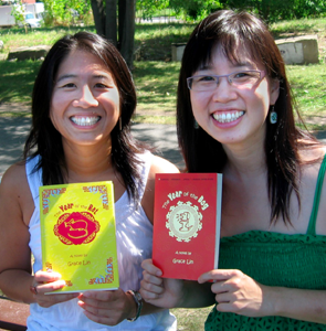 Alvina and Grace, Editor and Author (circa 2007)