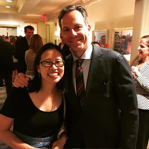 Grace and Jake Tapper at the Hachette Book Group Sales Conference