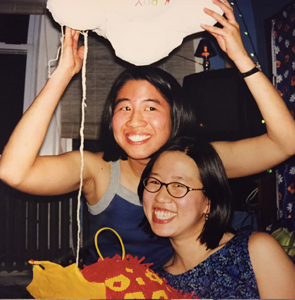 Grace and Alvina as roommates in Boston!