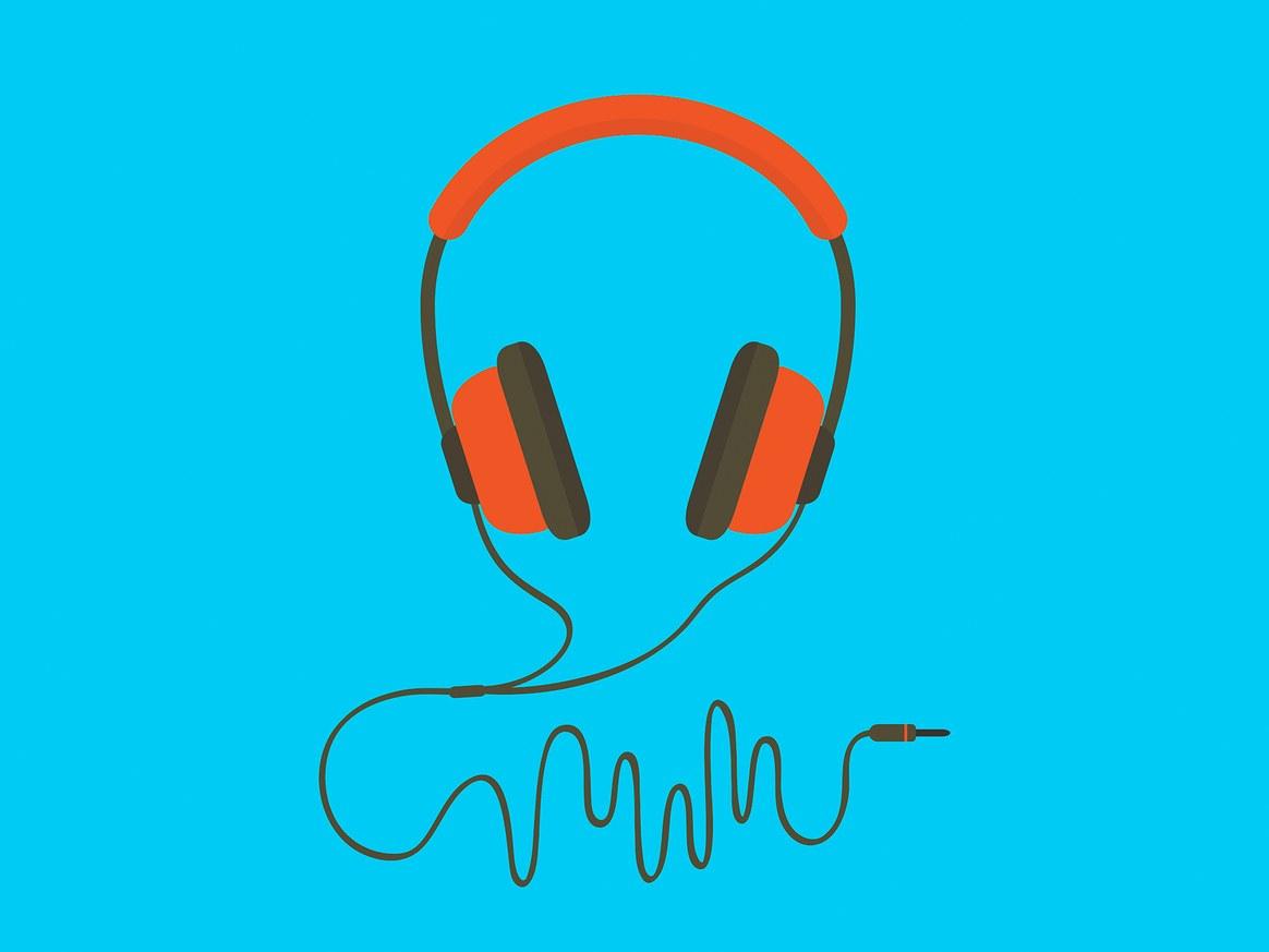 Orange Headphones @ Getty Images