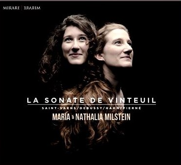 La sonate de vinteuil - with Maria Milstein, violinWorks of Saint-Saëns, Pierné, Hahn and Debussybuy from Amazon