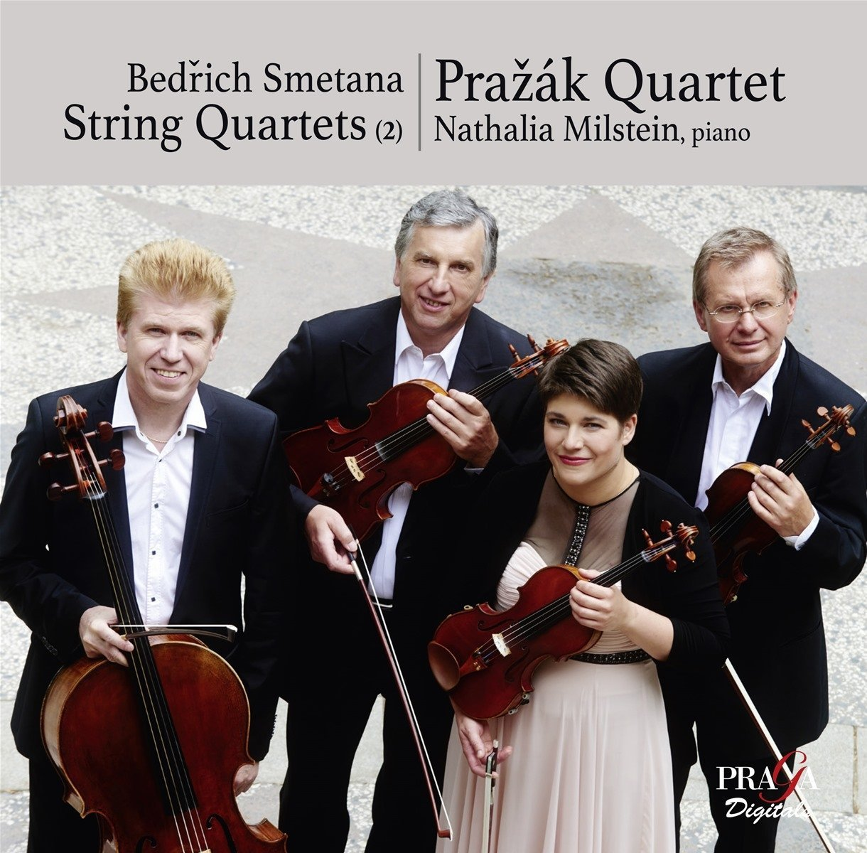 Smetana trio - Works of Smetana by the Pražák Quartetand Smetana Piano Triobuy from Amazon