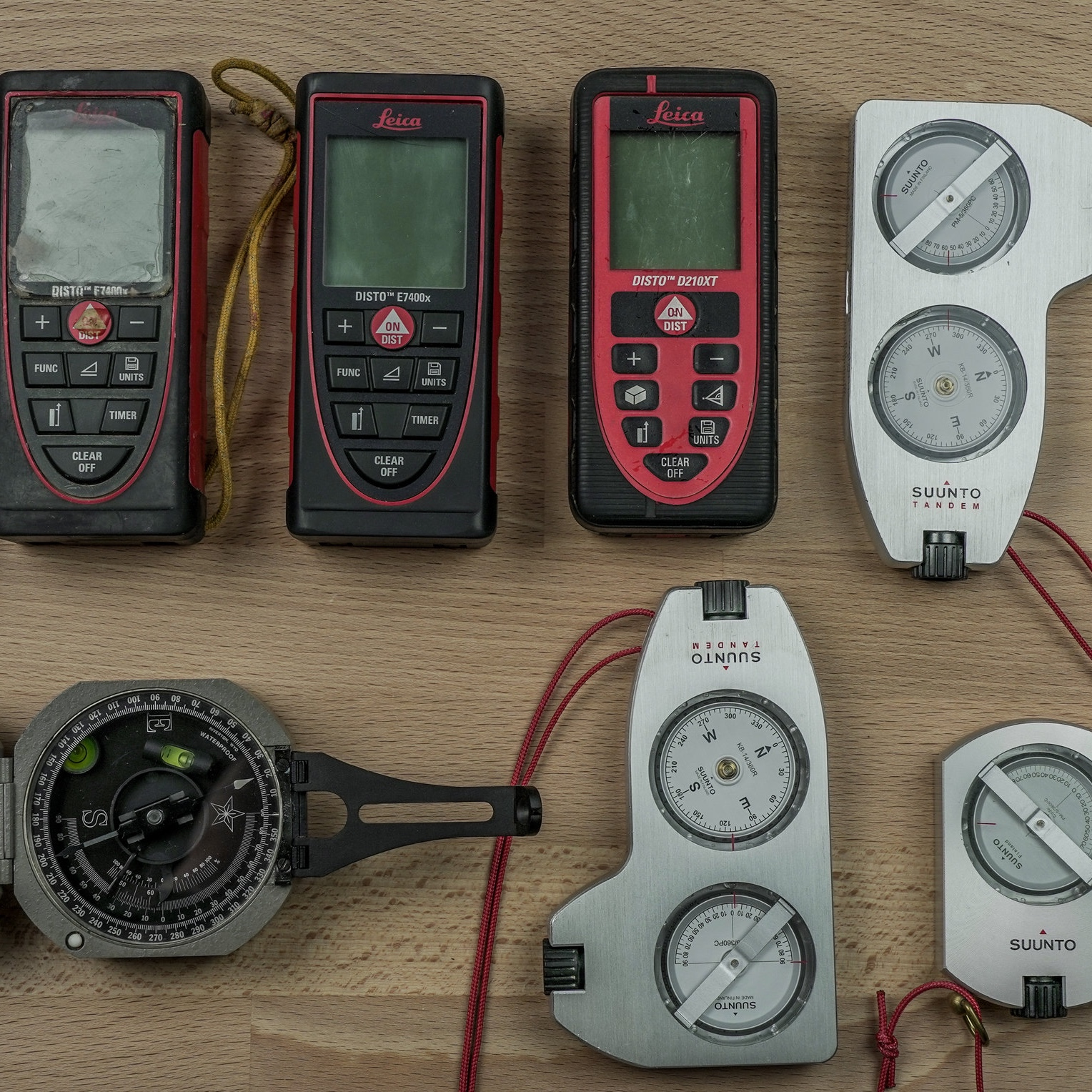 Cave survey instruments - The fundamental data that is collected during a cave survey includes the distance, azimuth and inclination between a series of sequential survey stations. There are both analog and digital instruments used to take these measurements.