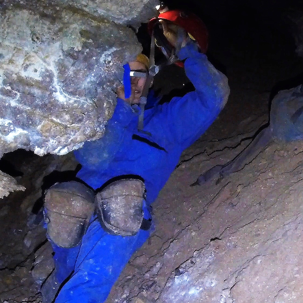 cave survey team roles - A traditional survey team has three primary roles - point person, instrument person, and sketcher.