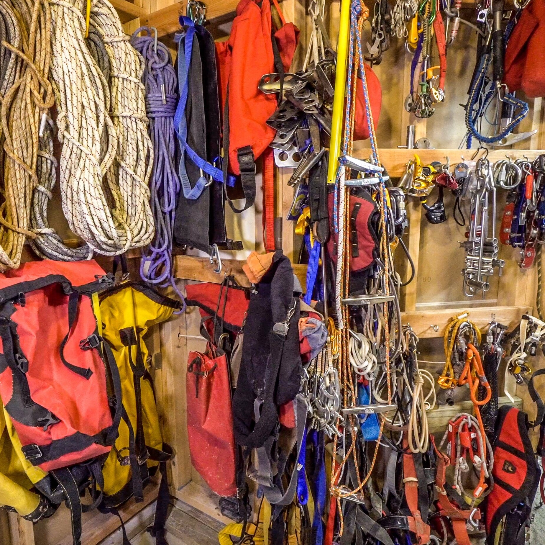 Caving gear - The equipment used to safely and efficiently visit caves is ever-changing. Utilizing the right gear and using it properly can enhance both the comfort and enjoyment of spending time underground.