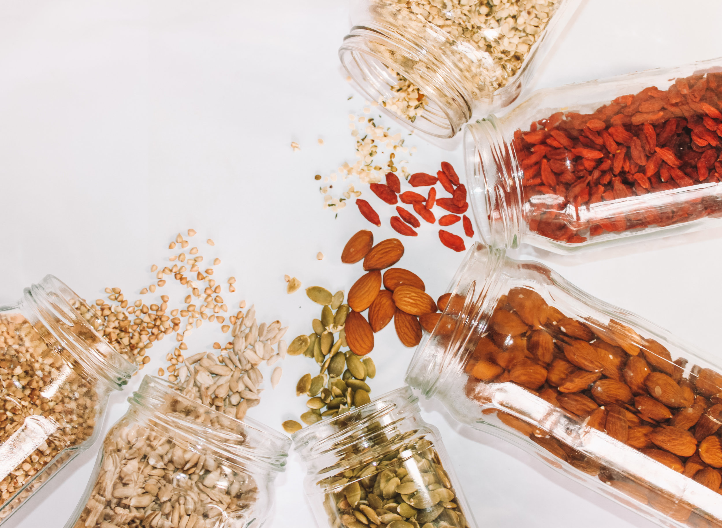 nuts & snacks -