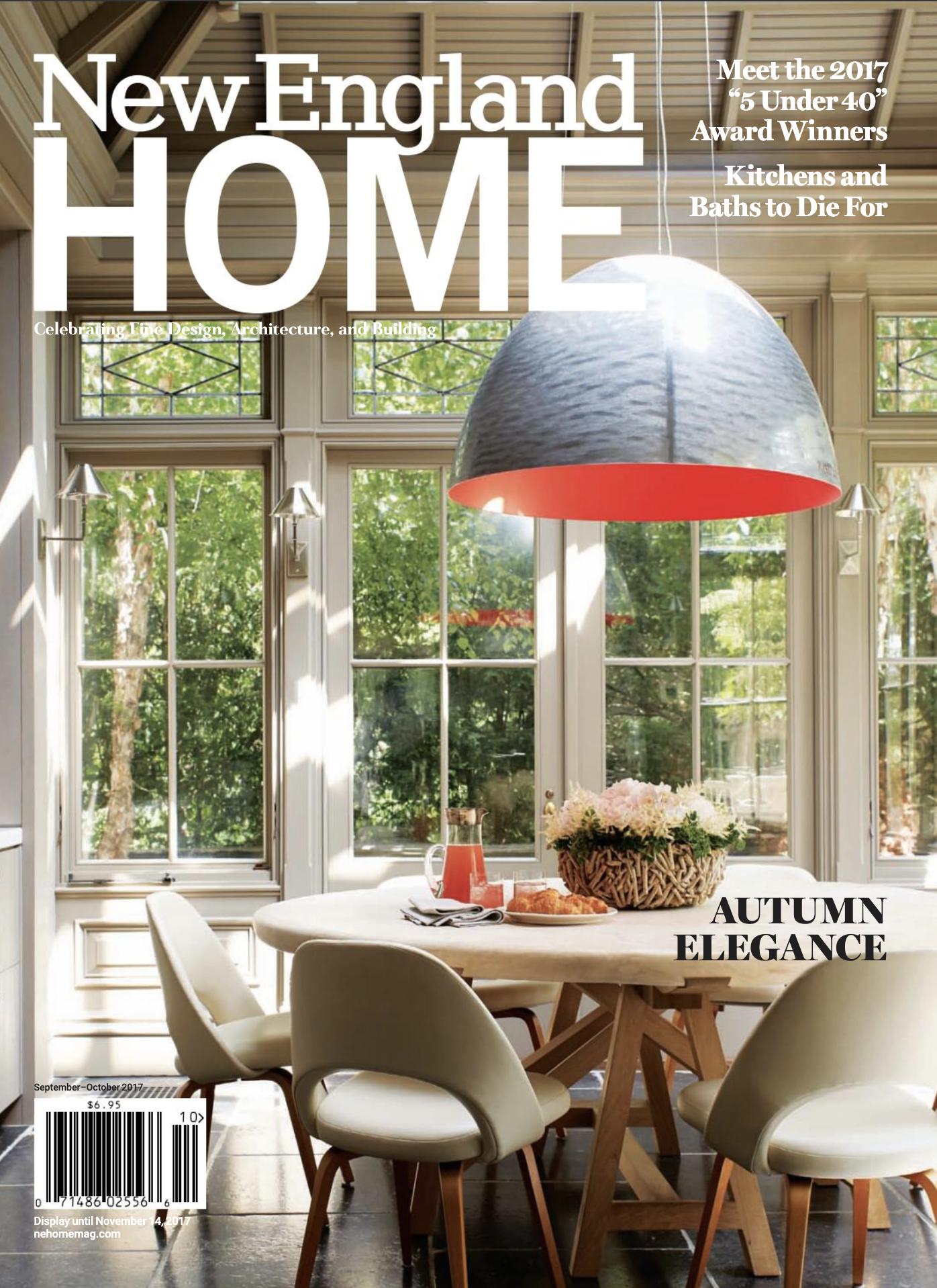 Anita Clark Design - New England Home Magazine, September/October 2017