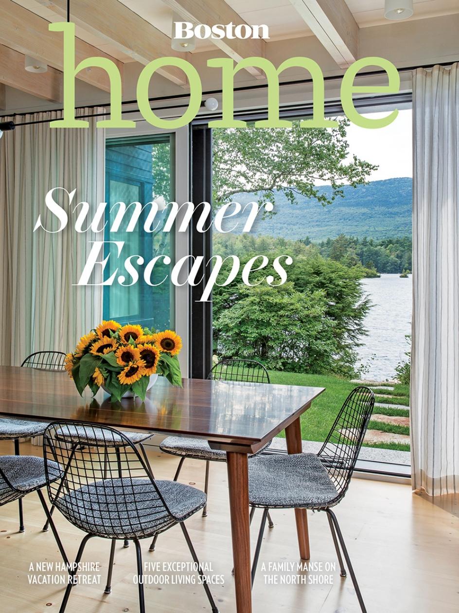 Anita Clark Design - Boston Home Magazine, Summer 2018