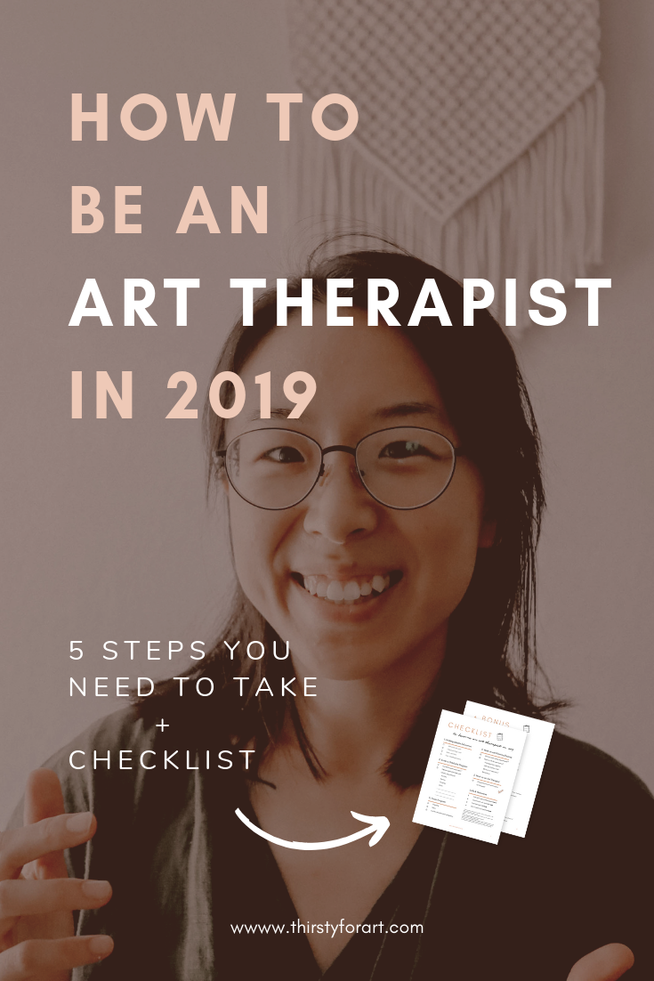 5 Steps to become an art therapist in the USA in 2019