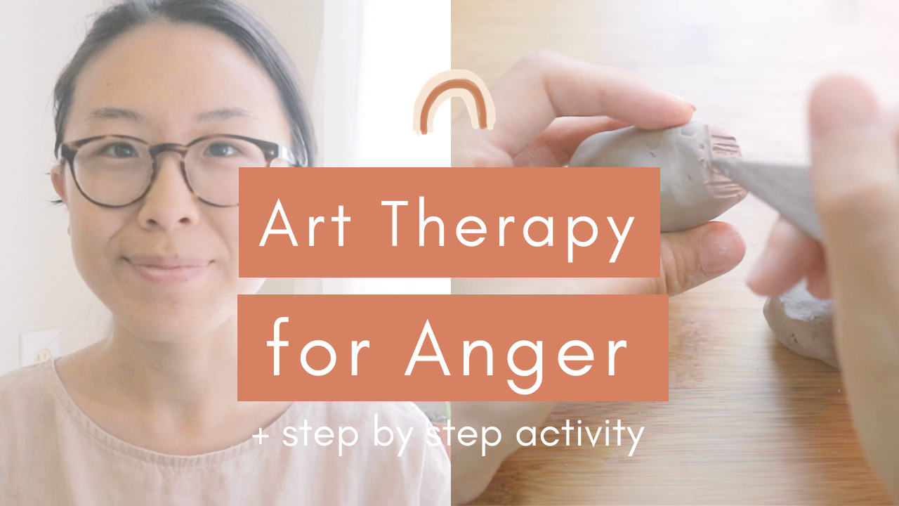 youtube thumbnail - art therapy for anger.png