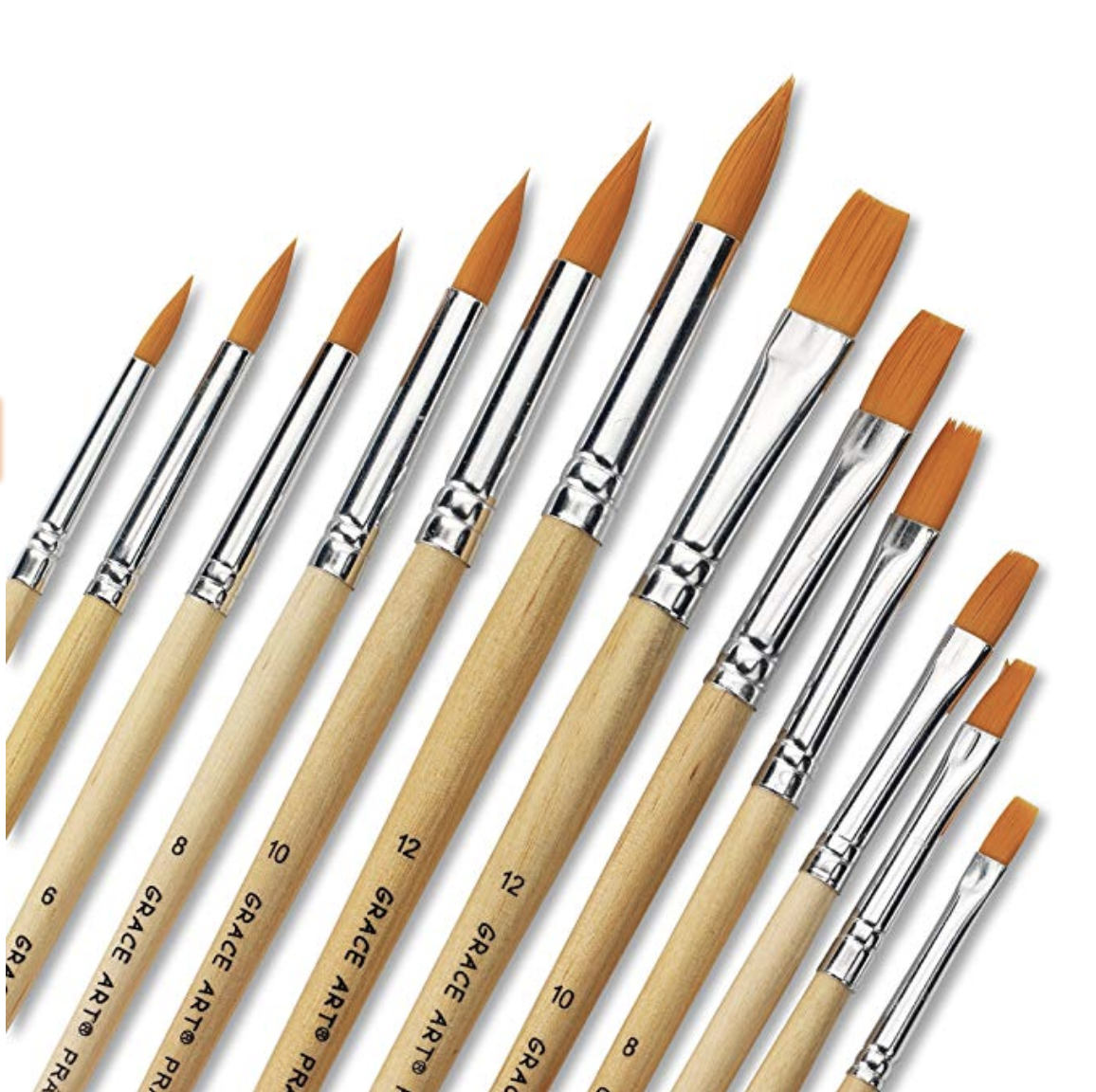 Grace Art Water Color Brush Set WS12 by Grace Art, $7.50