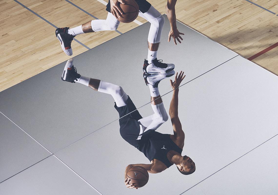 Jayson Tatum Air Jordan 34 on feet