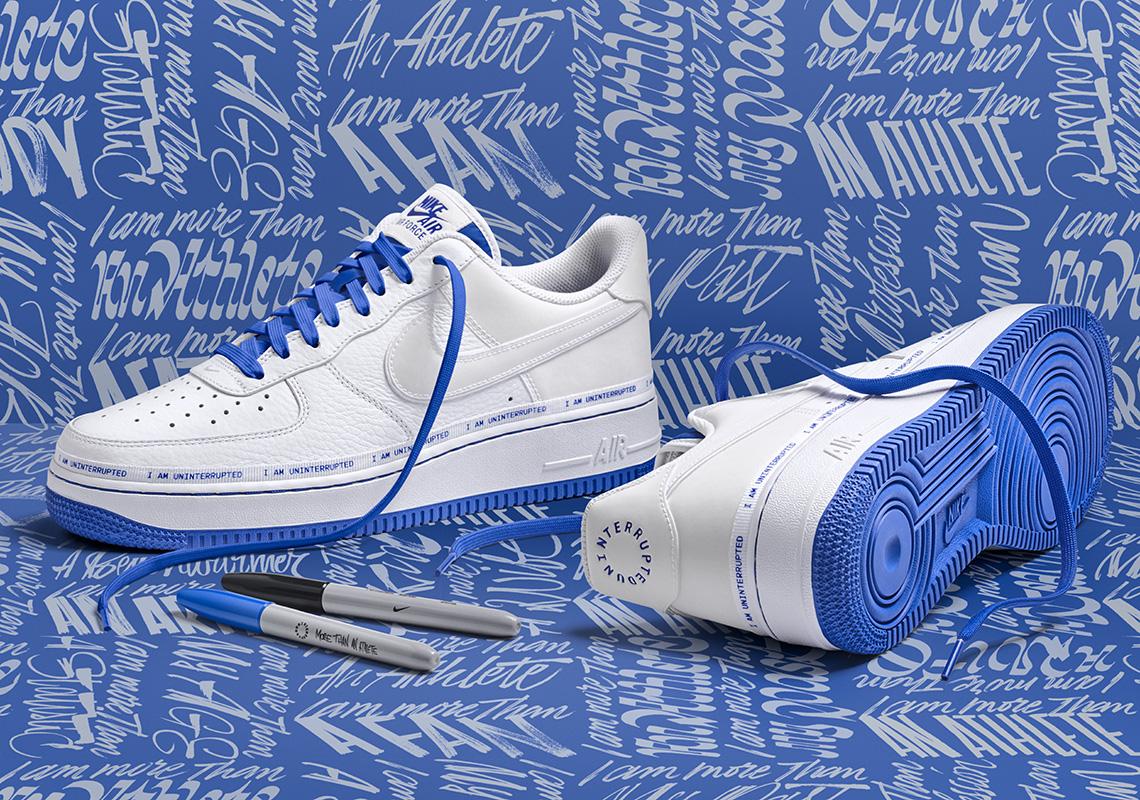 UNINTERRUPTED X Nike Air Force 1