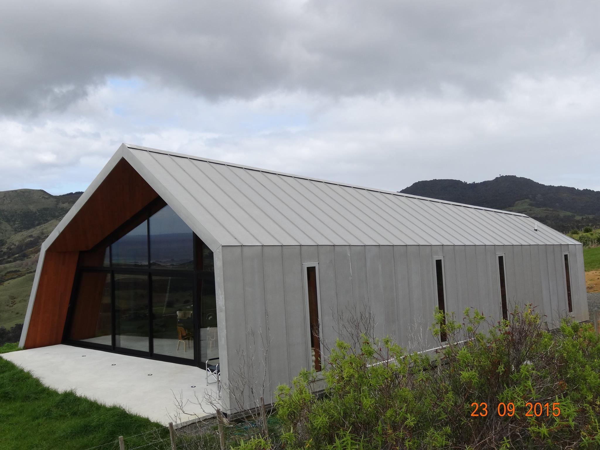 Architectural Gallery Pakiri House The Roofing Store