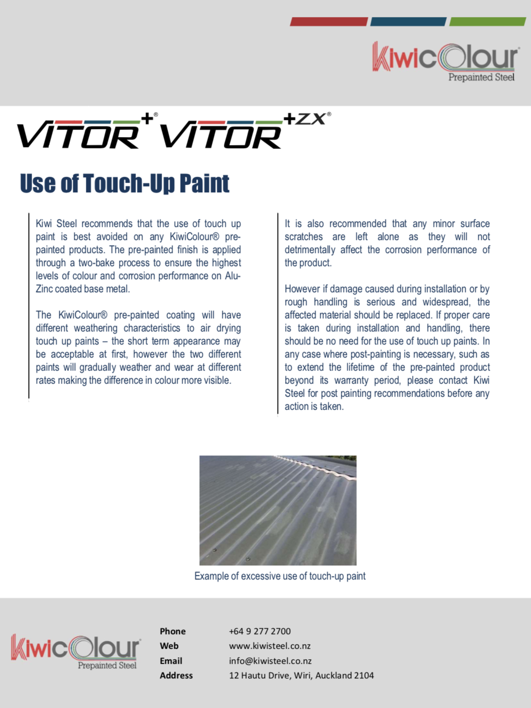 KiwiColour Pre-Painted Steel – Use-of Touch-Up Paint Image.png