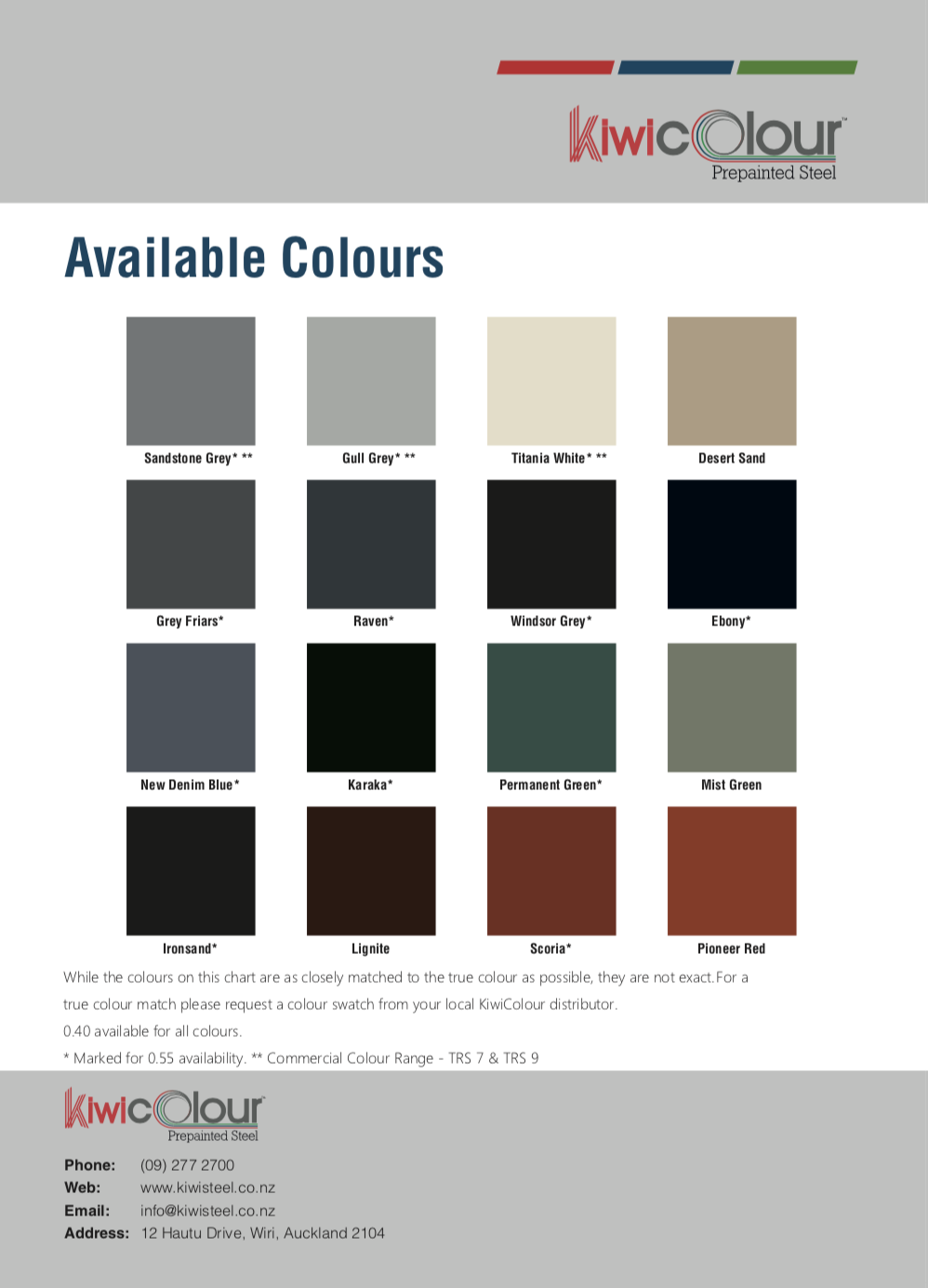 KiwiColour Pre-Painted Steel Available Colours Image.png