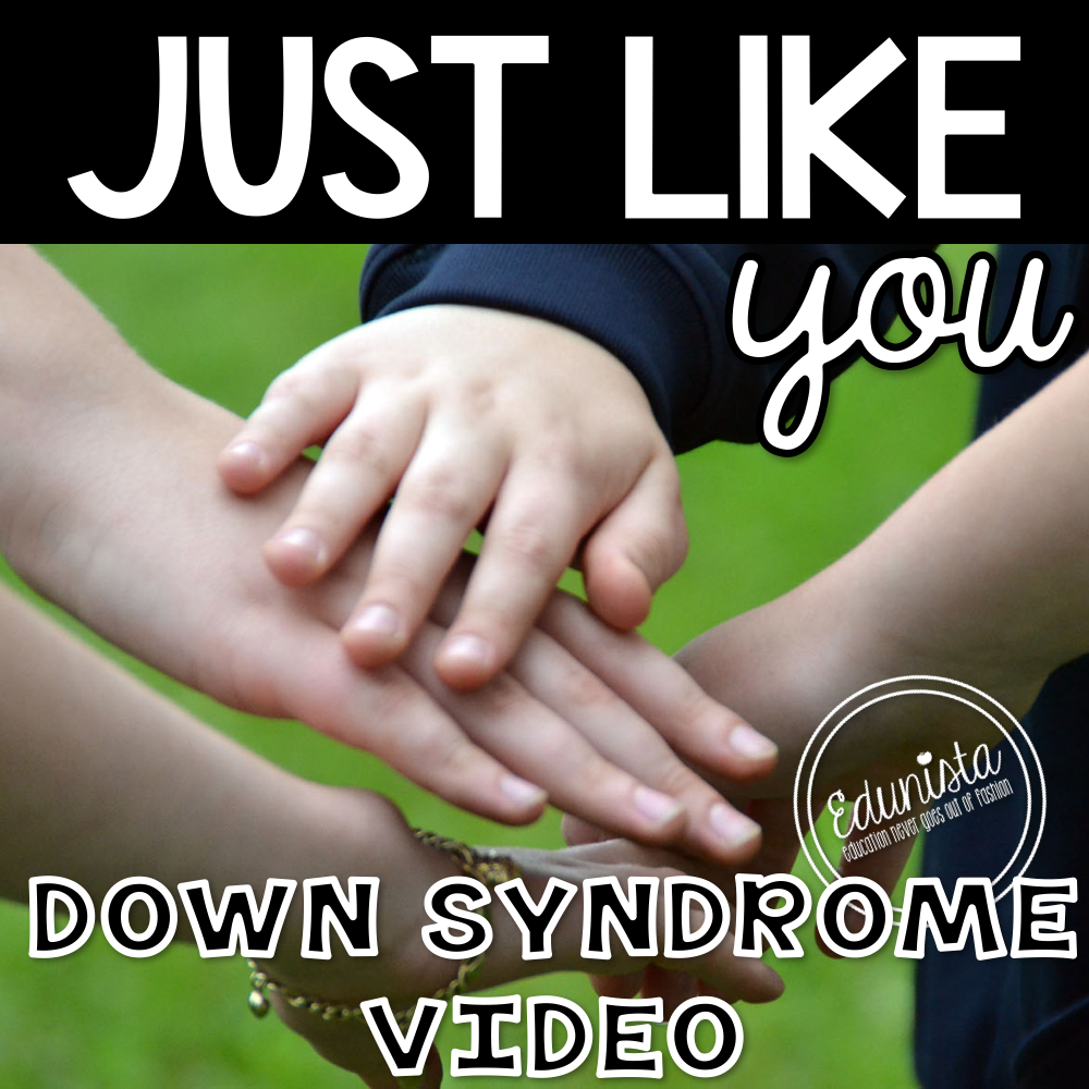 edunista blog just like you down syndrome