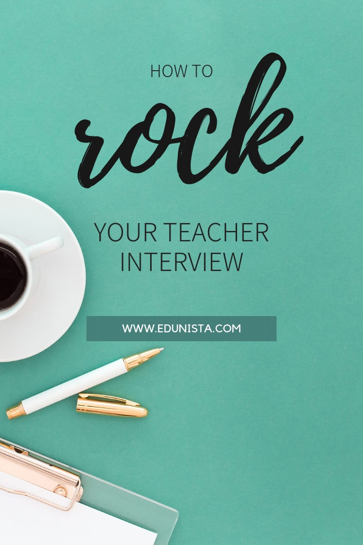 Check out what you can do to help yourself feel more prepared for your teacher interview and help yourself stand out from the crowd!