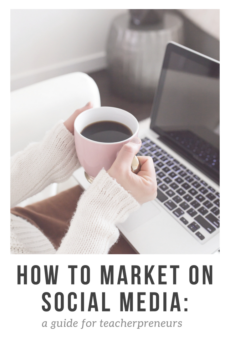 This is the most thorough marketing list for teacherpreneurs! Definitely a must read if you are a teacher seller or want to be teacher blogger!