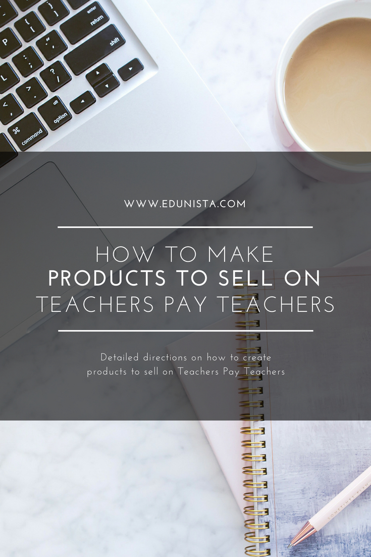 OMG! OMG! OMG! I've finally struck gold! This how to is genius! I've always wanted to sell products on Teachers Pay Teachers but never new how. This post walks you through step by step how to make products to sell on TpT! Can't wait to get started!