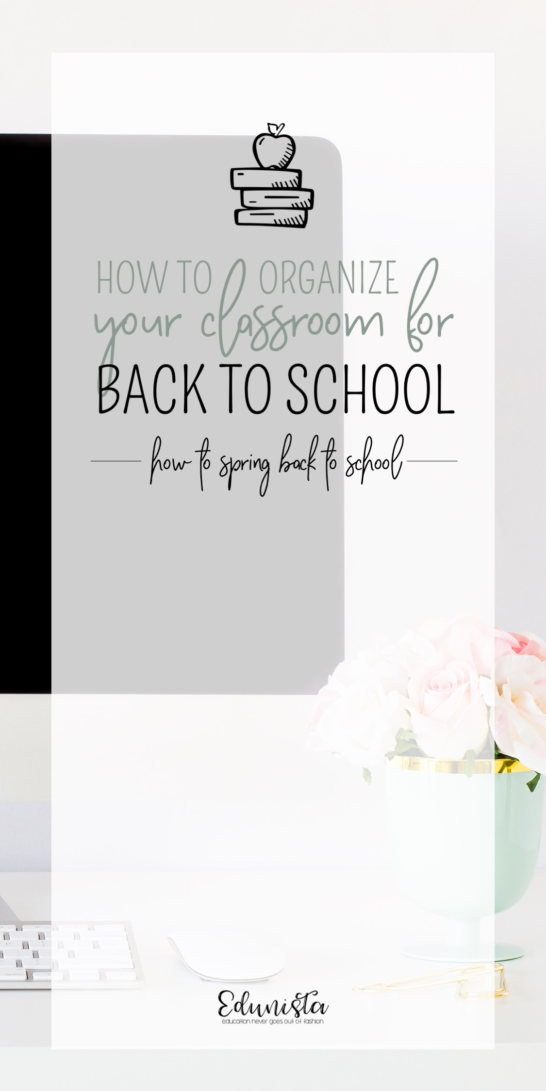 Need to save this post! It's filled great ideas to help get my classroom organized for next school year! Love the idea of getting ready for back to school, now, in the spring!
