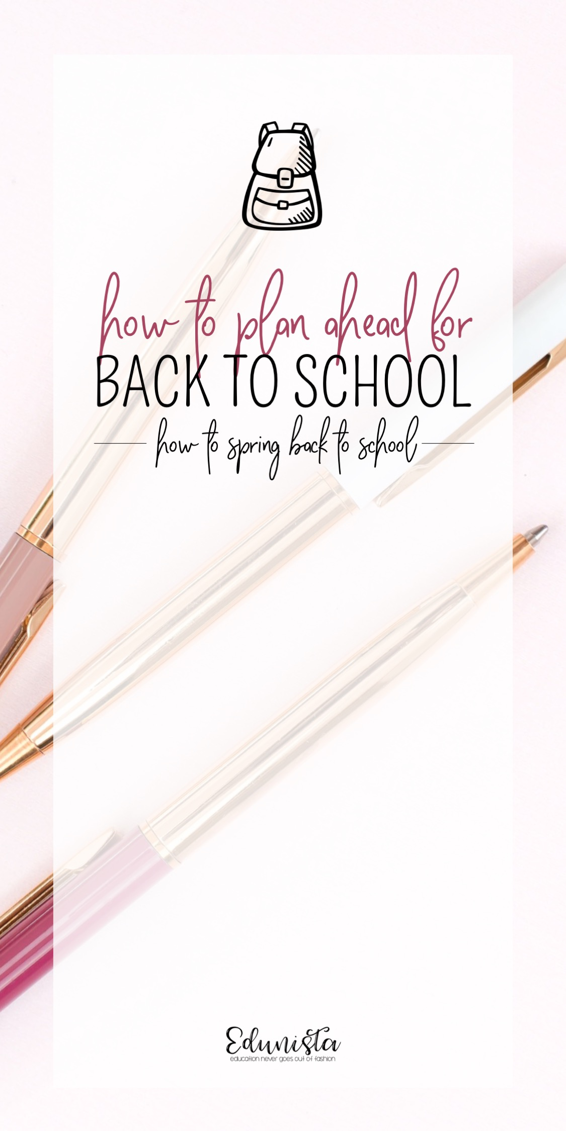 The first few weeks are so crazy! I've always planned out the first few weeks before leaving for the summer break but this post has really helped me take it to the next level! Check it out!