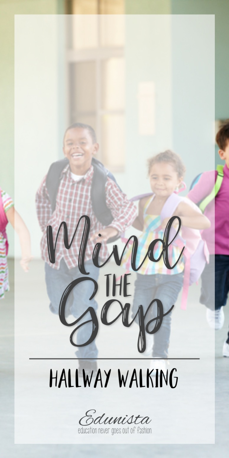Keeping quiet hallways are part of belonging to a school community and those quiet halls help everyone learn. Here are two tricks for walking in the hall.