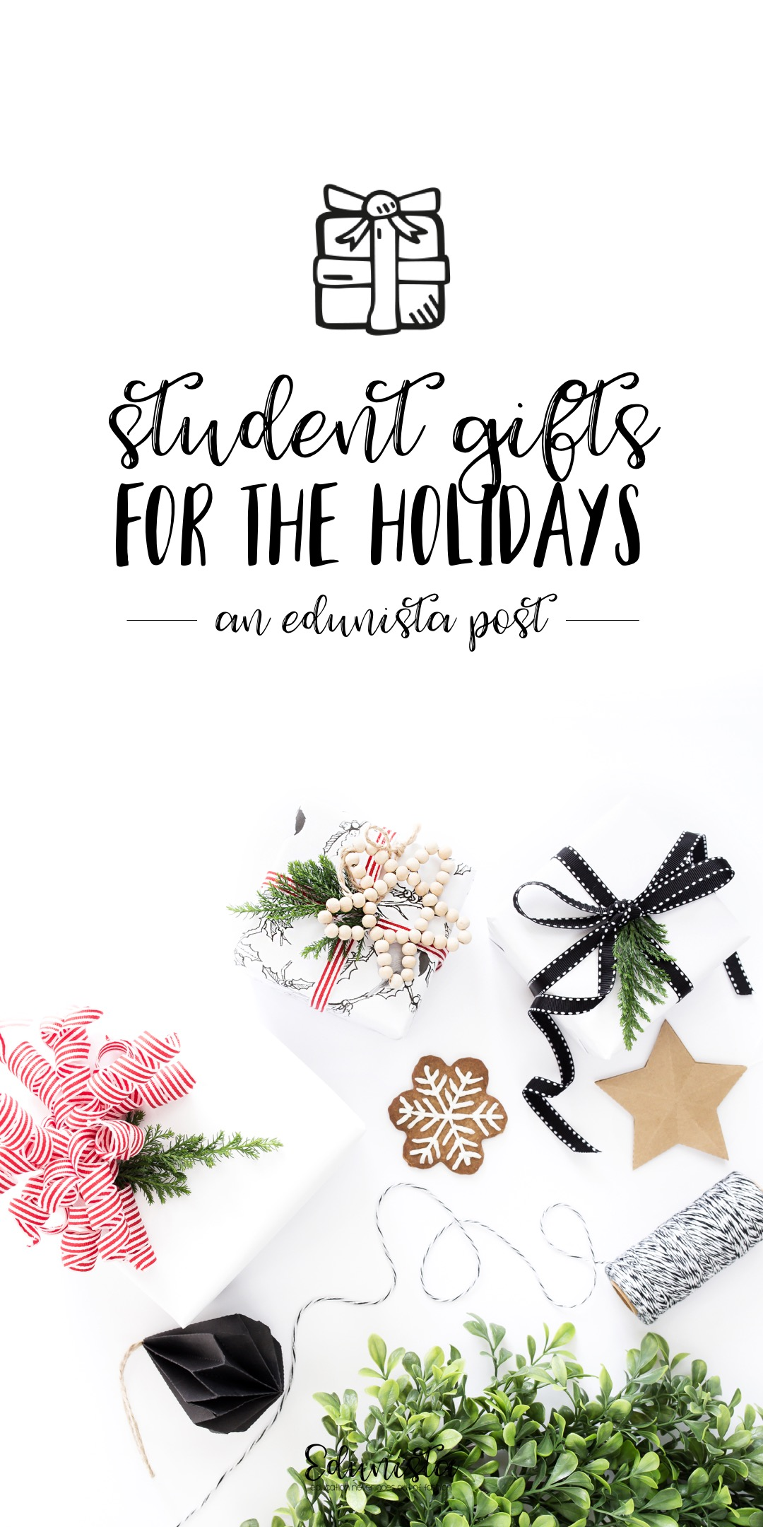 The best student gift ideas for the holidays! I can't wait! I love Holiday Student Gift shopping and these are so cheap!