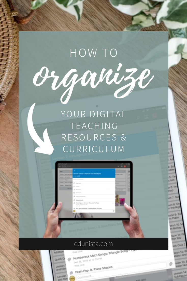 Are you struggling with how to organize all of your digital teaching resources? Check out how we organize our curriculum using Trello, a free online list-making application that not only made it easy to store the digital resources that we have come to love in one place, but also a quick and easy place to organize the team's notes on specific lessons.