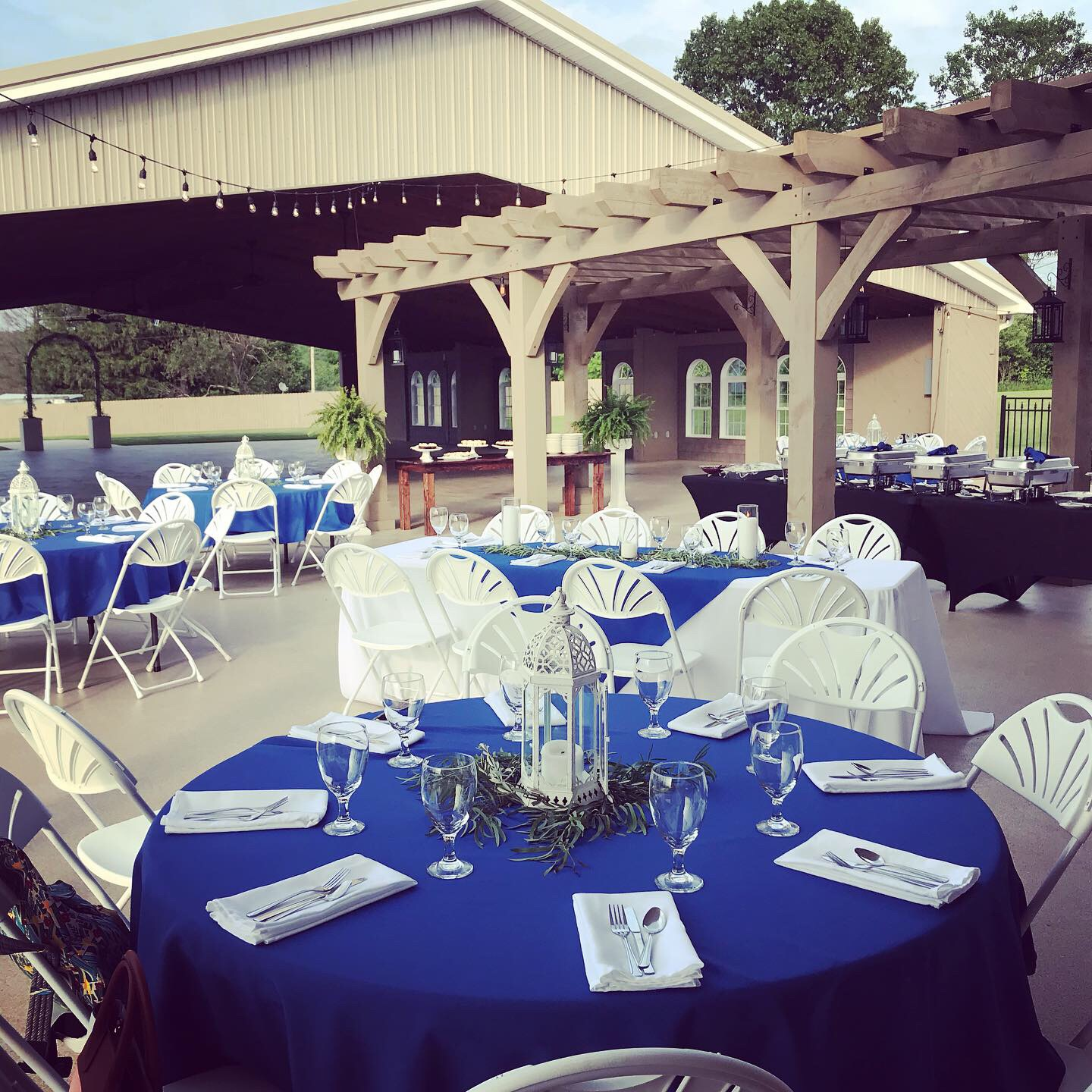 The Patio - No matter if it's an intimate dinner or large outside dance floor, the Patio is a great place to share special moments during your wedding or event!
