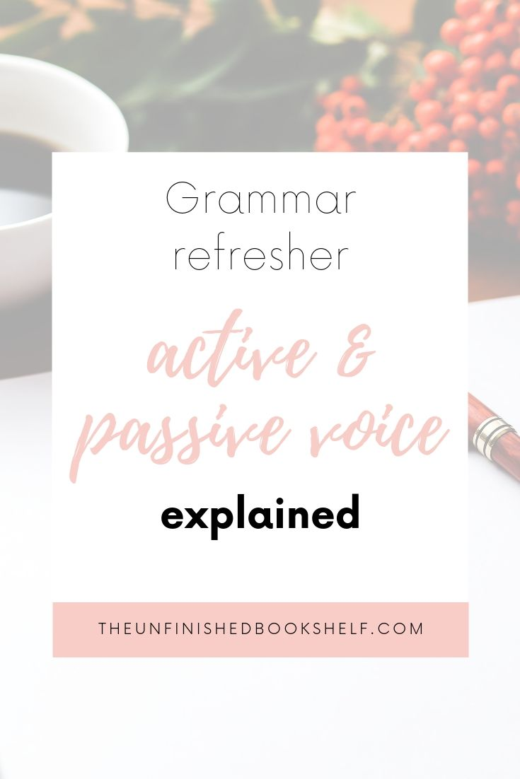 Grammar rules: Active and passive voice explained.