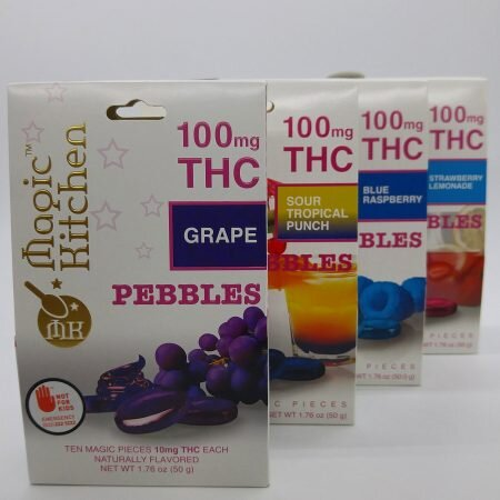 Pebbles in Your Mouth! - These pebbles aren't made out of stone, but they are sure to get you stoned comming in at a whopping 100mg per package!ONLY $15!