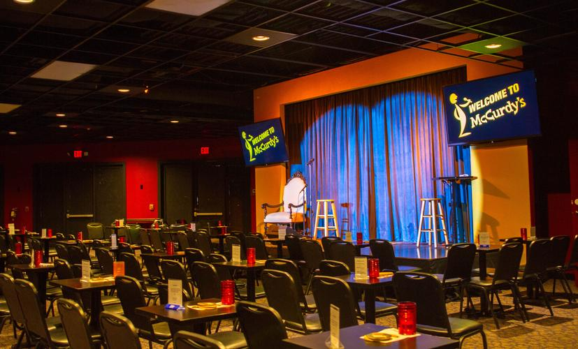 McCurdy's Comedy Theatre - Burns Square Historic Vacation Rentals