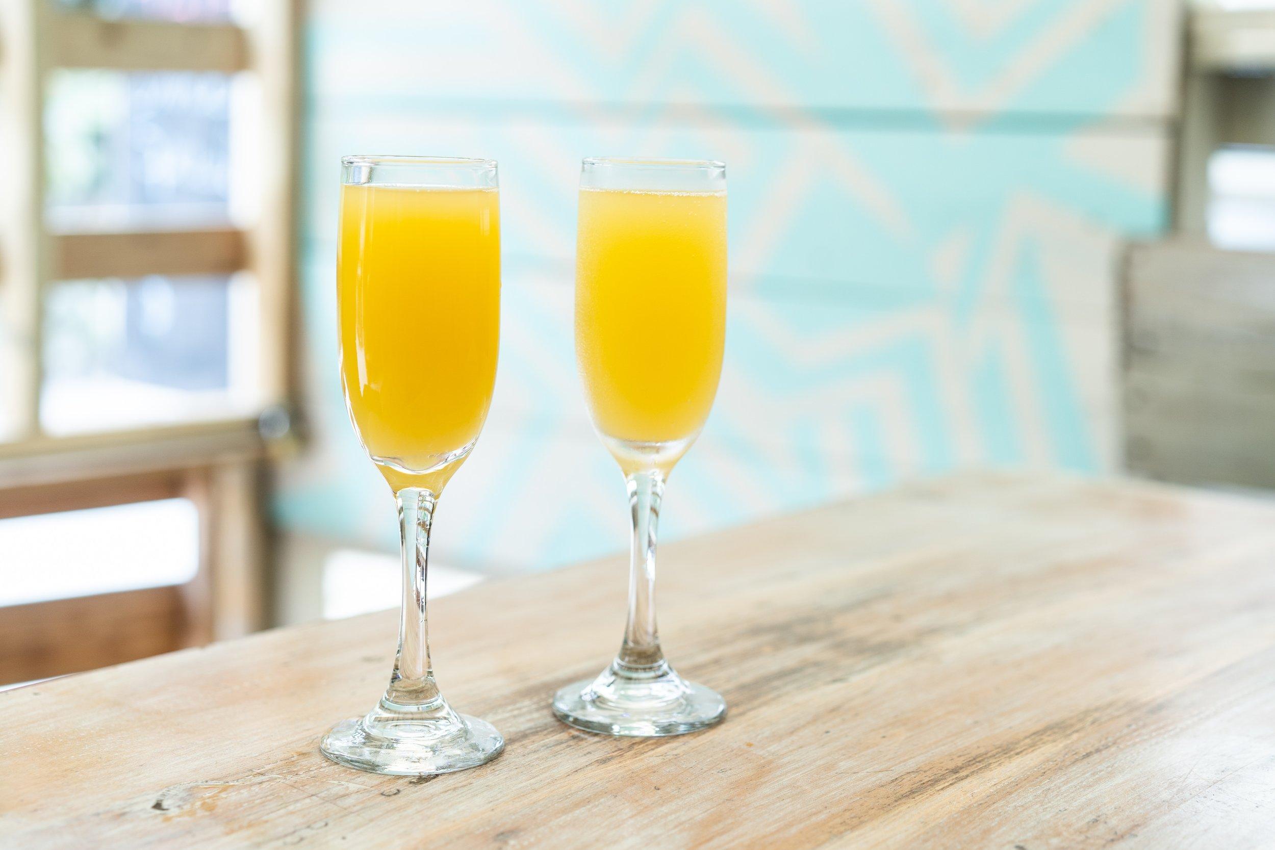 Fresh, local, orange juice - Burns Square Historic Vacation Rentals