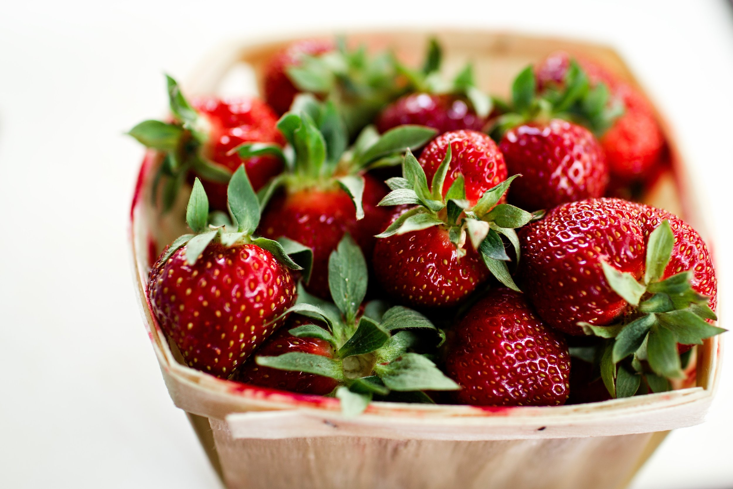 Fresh Strawberries - Burns Square Historic Vacation Rentals