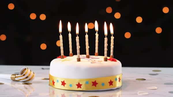 Birthday Candles - Burns Square Historic Vacation Rentals