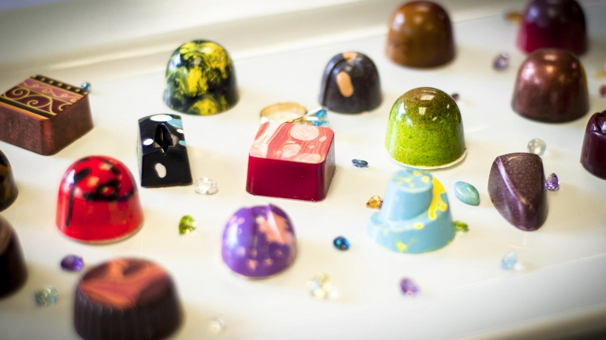 Local chocolates - Burns Square Historic Vacation Rentals